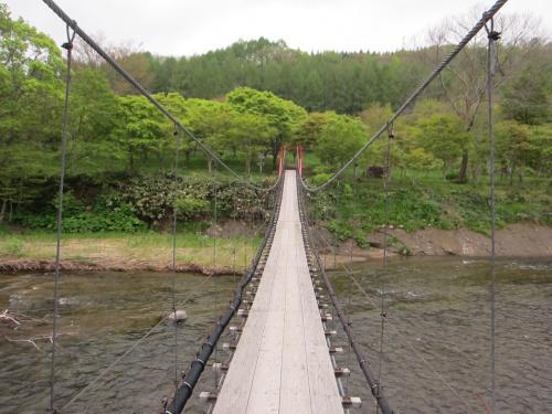 銀婚湯の吊り橋1