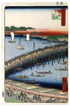 054両国橋大川ばた