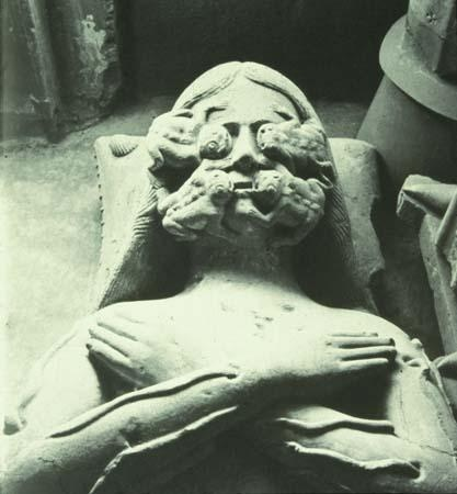 Effigy of Francois I de la Sarra d 1363 Chapel at La Sarraz