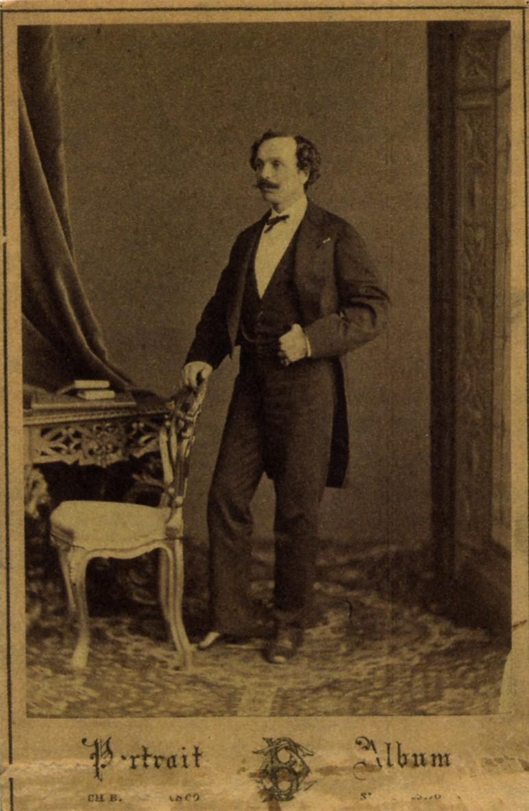 マリウス・プティパ ペテルブルク(1855年)