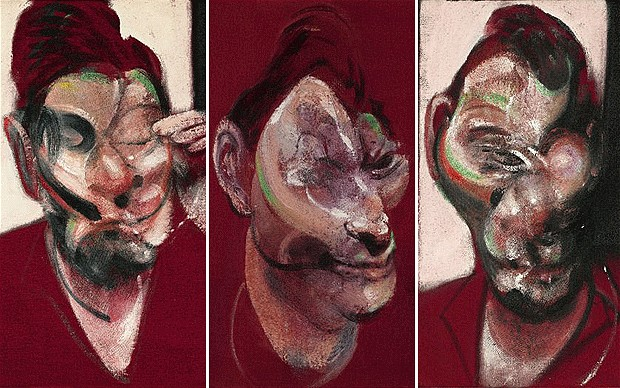 Francis Bacon Three Studies for a Portrait of Lucian Freud