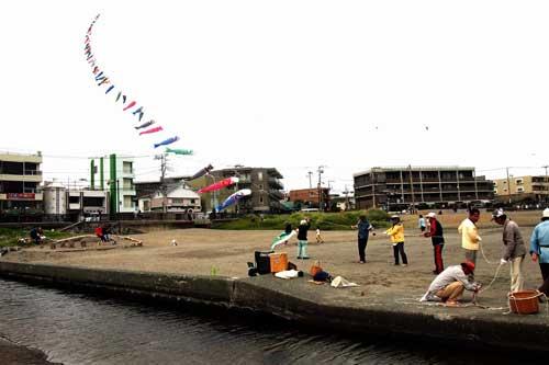鯉のぼり凧揚げ6