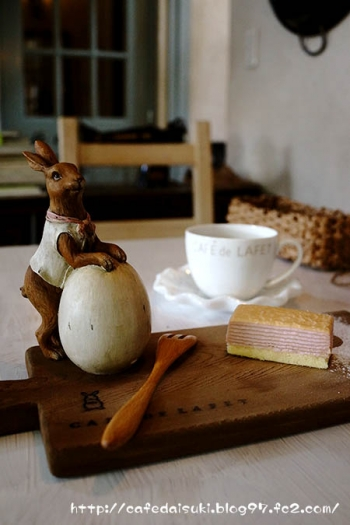 CAFE De LAFET◇ランチデザート