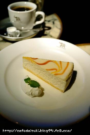1988 CAFE SHOZO◇白いチーズケーキ&森のブレンドG2
