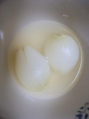 新玉ねぎのコンソメ煮
