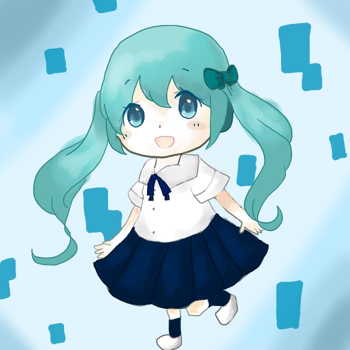 miku 制服