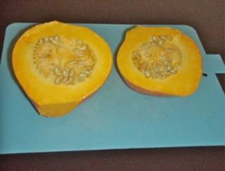 収穫かぼちゃ