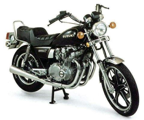 Suzuki GS 550L 80