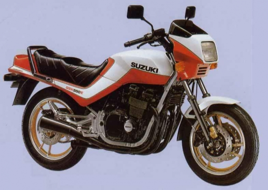 Suzuki GSX 550E 83 1