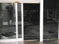 (写真1)展示室優面に侵入した海砂
