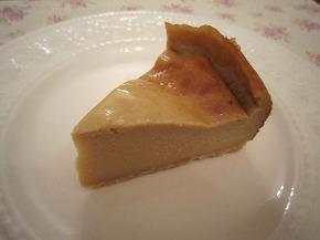 ベイクドチェーズケーキ2
