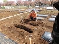 耕し方のレクチャー