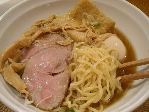 じるば・H26・9 中華そば しょうゆ味 麺