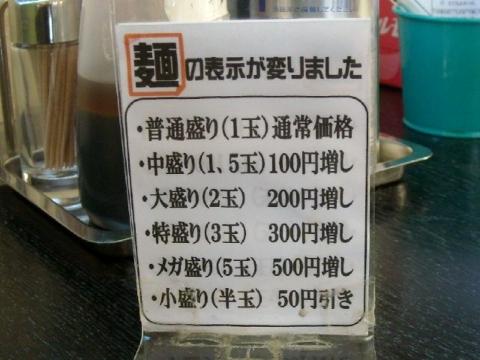 ほうとく春日山本店・H26・9 メニュー8