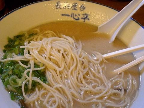 あぁ博多人情・H26・5 ラーメン 麺