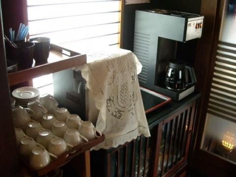 つか乃間・H26・7 コーヒーコーナー