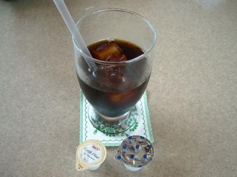 かつ一・H26・8 アイスコーヒー