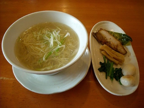 来味・H27・5 しじみ塩らぁ麺