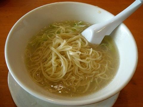 来味・H27・5 しじみ塩らぁ麺 麺
