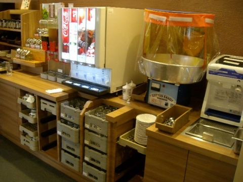 じゅうじゅうカルビ新潟三条店・H27・6 ドリンクバー