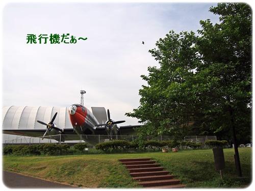 所沢航空記念公園の飛行機