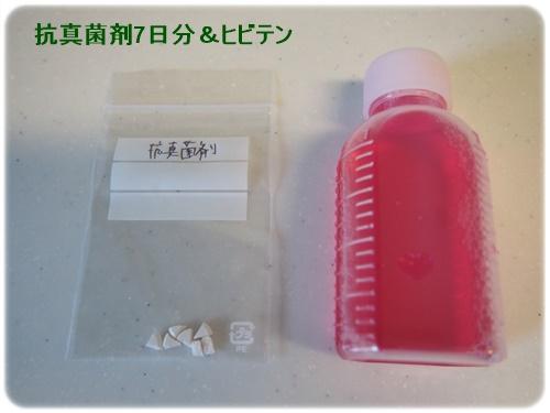 抗真菌剤とヒビテン