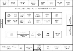 クチュリエマルシェブース表