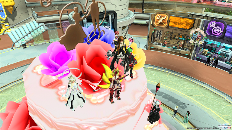 まったりトークONケーキ