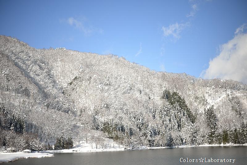 雪晴れの朝 3