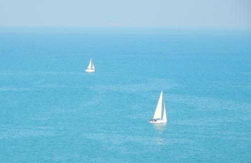 Sails in Gulf