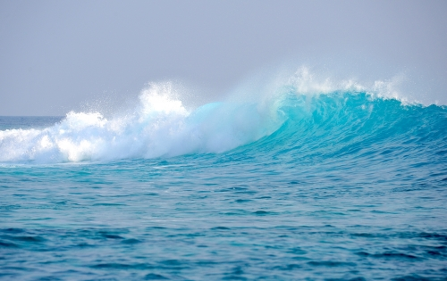 Wave in Maldives