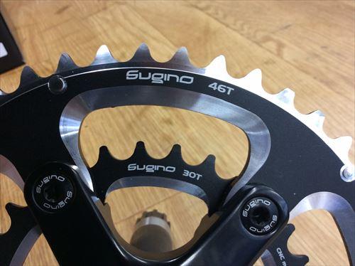 sugino-ox801-4630クランクギア