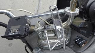 バイク用ドリンクホルダー・取り付け