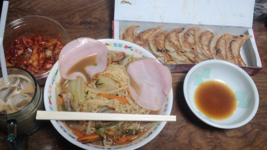 140930_ラーメン餃子