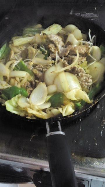 150415_肉野菜炒め6