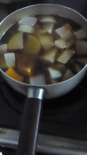 150420_かぼちゃと大根の煮物5
