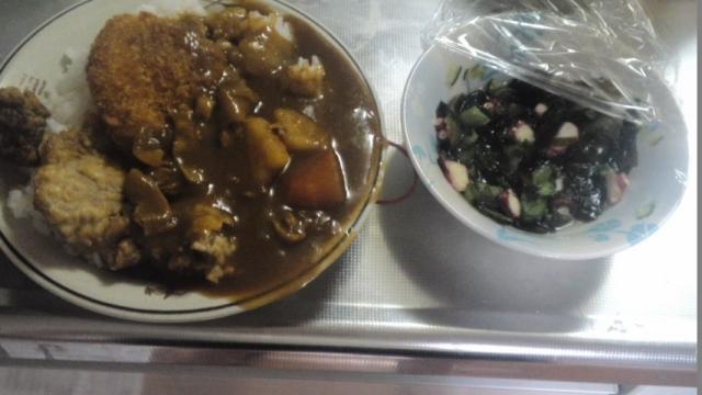 150421_夕飯もカレー1