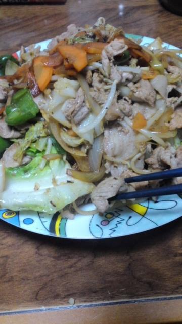 150423_肉野菜炒め08