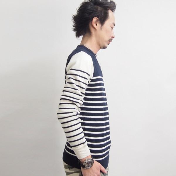 Pepe Jeans/ペペジーンズ/メンズ/'PRUSIK' プルオーバー綿ニット pm700839