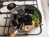 鶏と茄子の治部煮風36