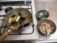 鶏と茄子の治部煮風38