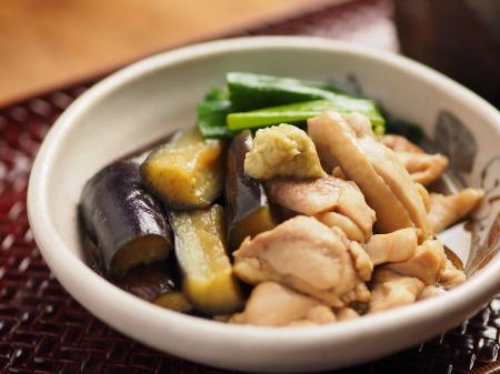 鶏と茄子の治部煮風25