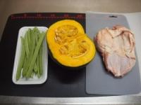 鶏とかぼちゃの煮物38