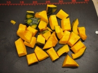 鶏とかぼちゃの煮物41