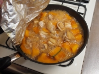 鶏とかぼちゃの煮物52