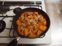 鶏とかぼちゃの煮物54