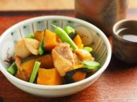 鶏とかぼちゃの煮物37