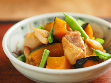 鶏とかぼちゃの煮物27