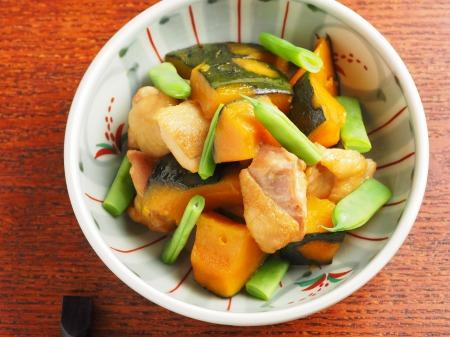 鶏とかぼちゃの煮物19