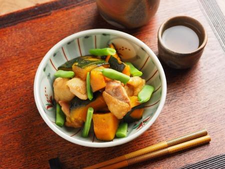 鶏とかぼちゃの煮物05
